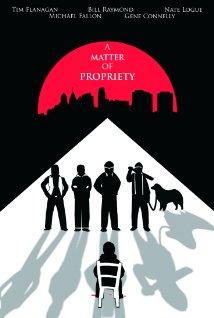 a matter of propriety